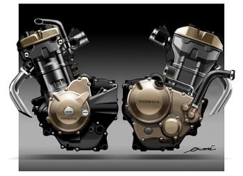 engine CBR250