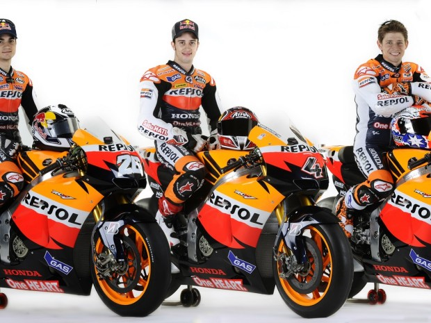Repsol honda young guns