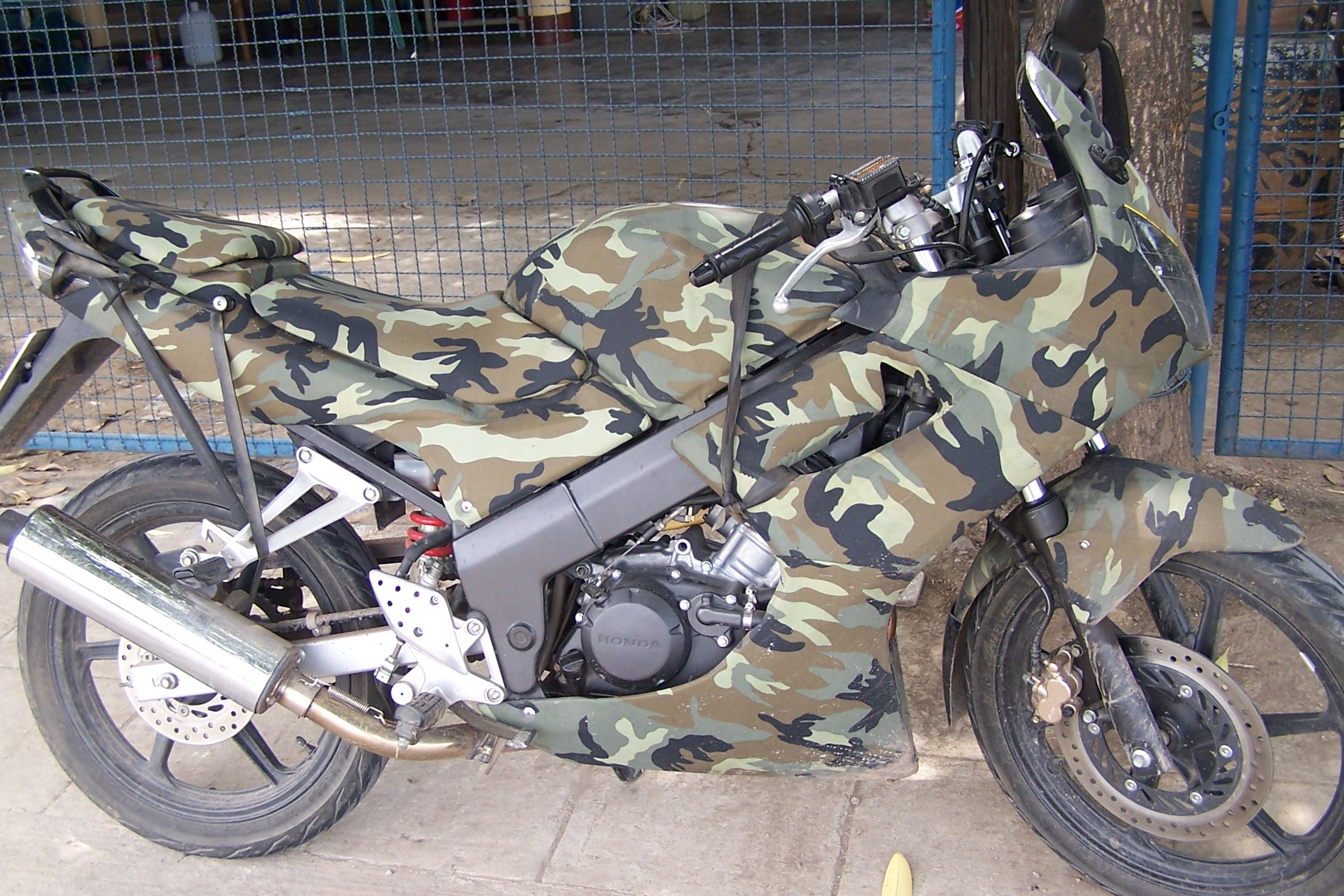 contoh modifikasi motor cbr 150 old