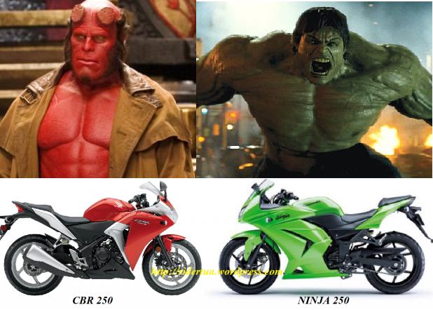 cbr vs ninja vs hellboy vs hulk