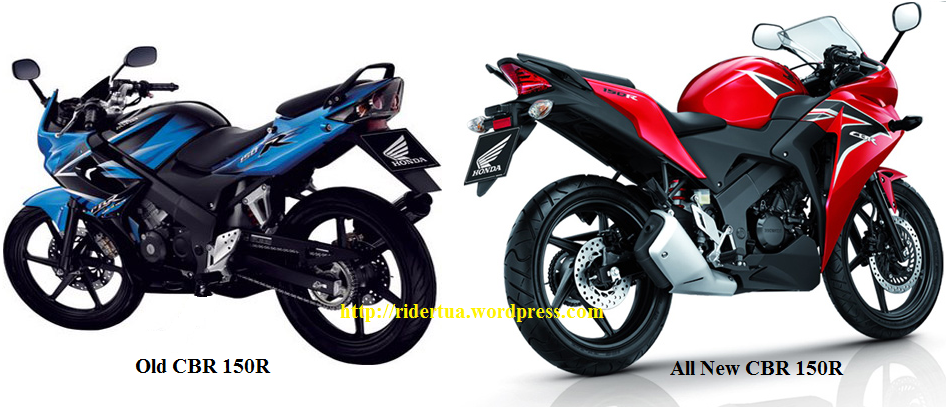Perbedaan Spesifikasi Old CBR 150R & All New CBR 150R .... !!! - RiderTua.Com