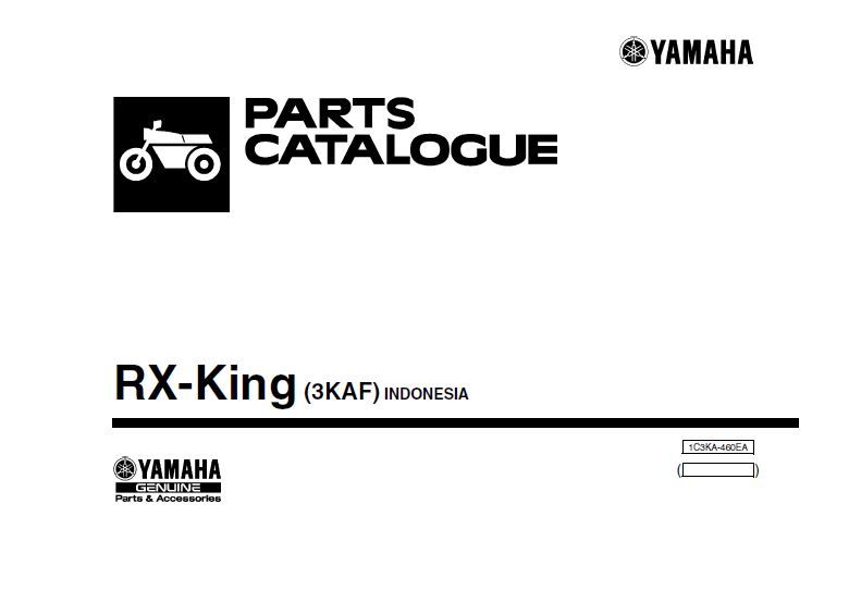 Part Katalog Yamaha Rx King