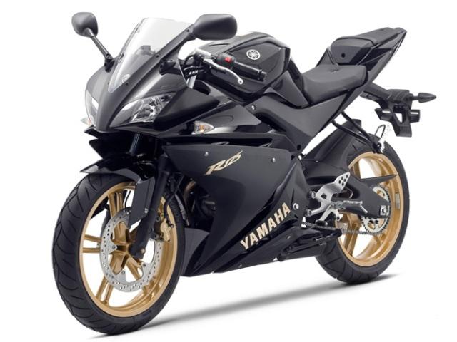 yamaha YZF R125 black