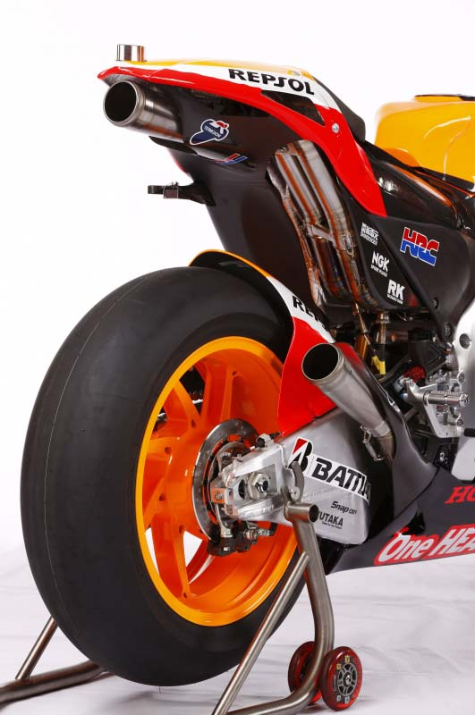 2012 Honda RC213V exhaust