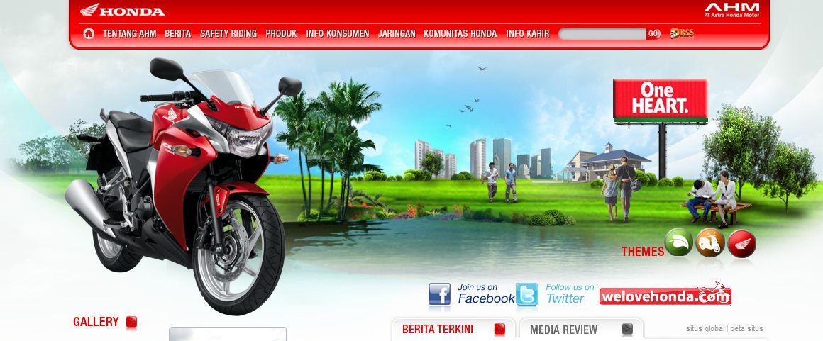 Website Pabrikan Motor Terbaik Indonesia Versi Ridertua RiderTua