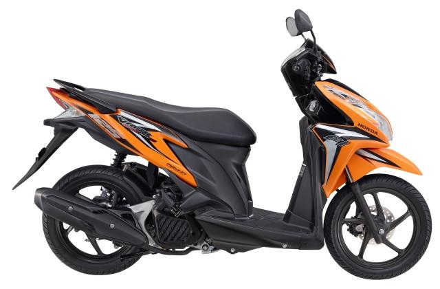 Vario Techno 125 PGM-FI Nitric Orange