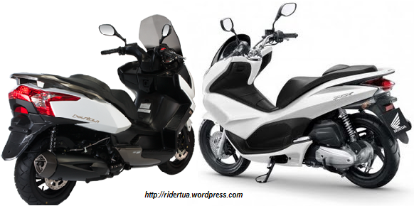 Kymco downtown 125 vs PCX 125
