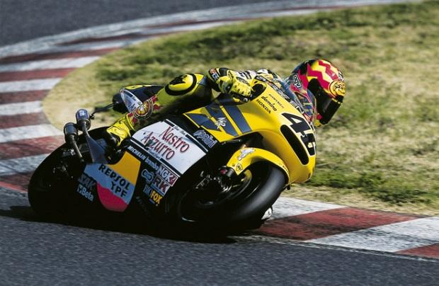 2001 Valentino Rossi, NSR500