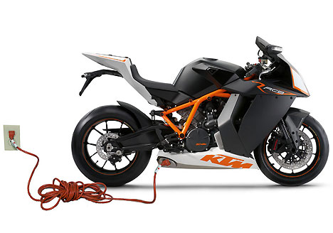 KTM electric-motorcycle