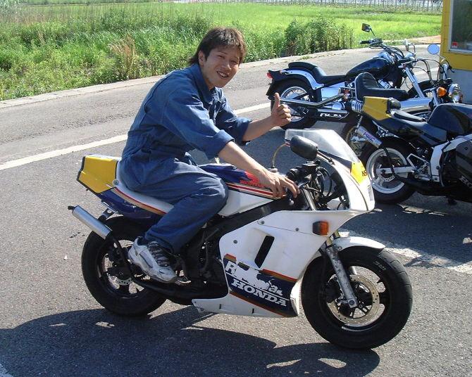 Anak Cucu Honda NSR series... ini baru cesssssssssss ...