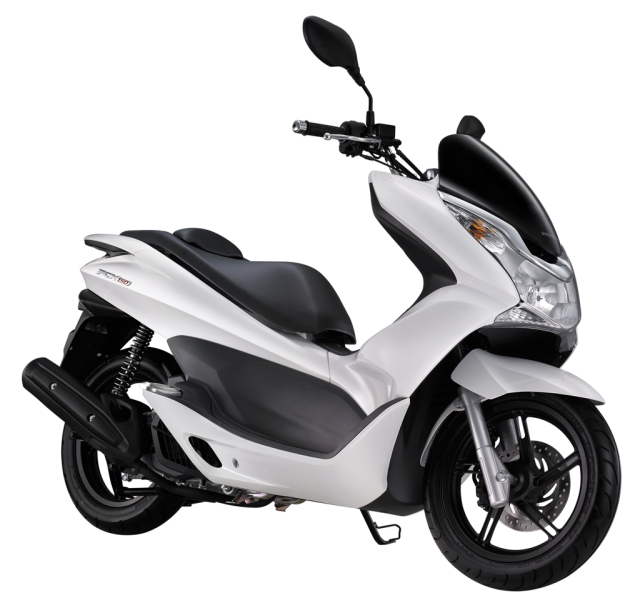 PCX-150 Glamour-White