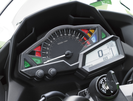intrument panel New ninja 250r