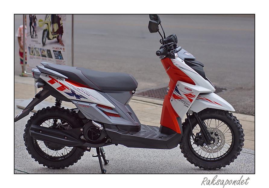 Yamaha ttx sanggupkah skutik mengubah pakem for Yamaha ttx adventure scooter for sale