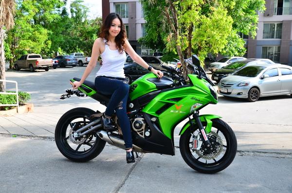 ninja650 girl