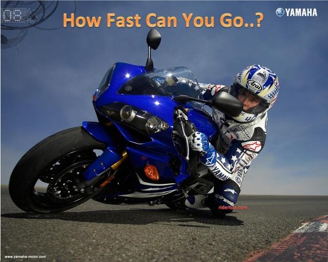 Yamaha-YZF-R1 how fast