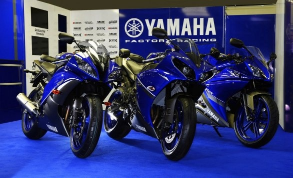 Yamaha Race Blue Series 2013