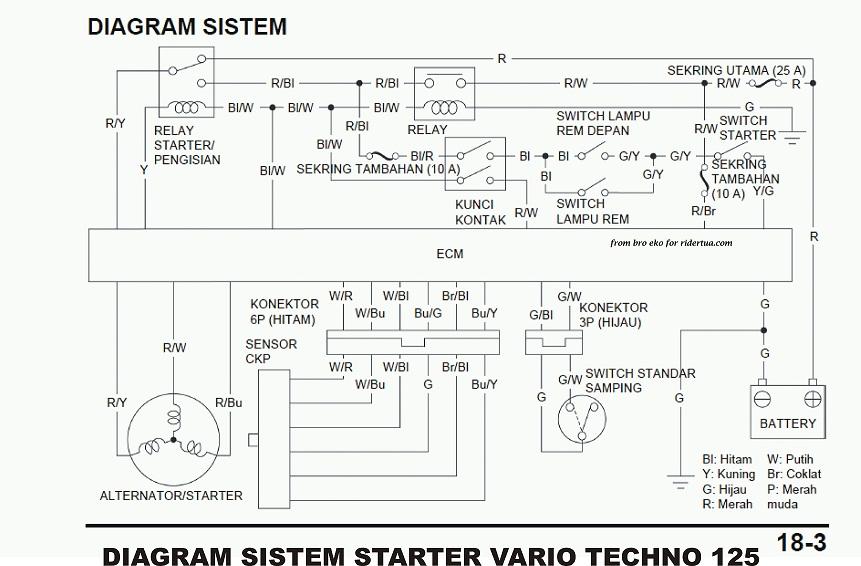 Wiring Diagram Vario 125 Pgm Fi   Wiring Schematic Diagram on