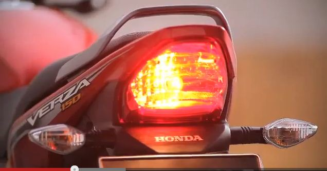 verza tail lamp