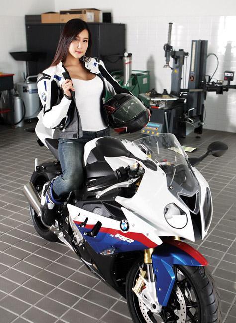 BMW girl tinthethao com vn