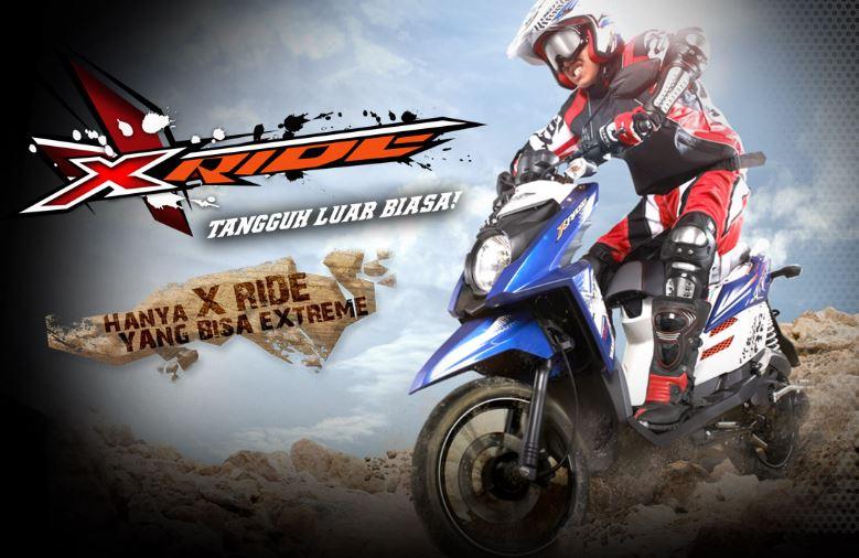 Spesifikasi dan Harga Yamaha X-Ride 2014