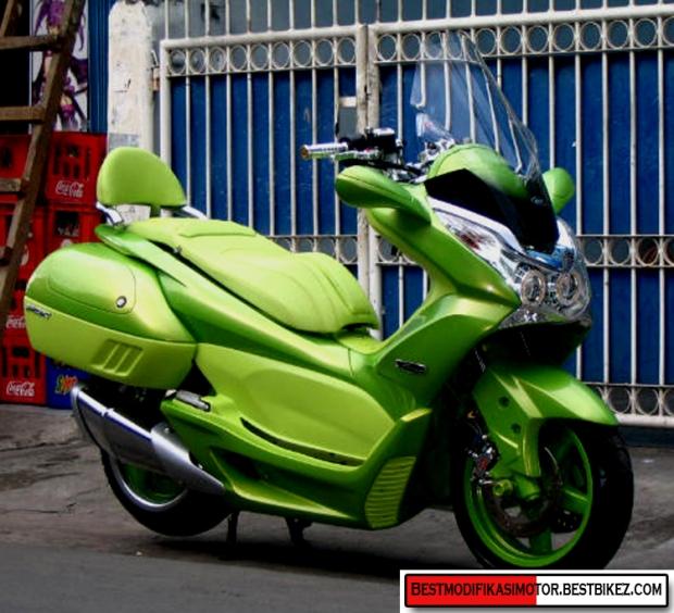 Modifikasi-Honda-PCX-150
