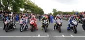 isle of man tt parade-lap