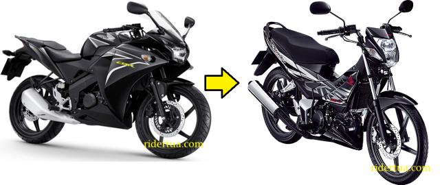 CBR150R Honda sonic