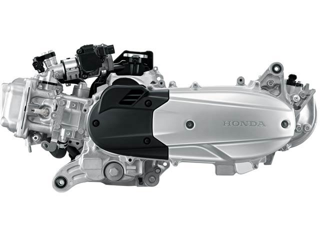 Honda-PCX-150-engine