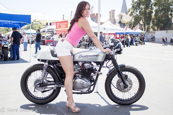 LA Calendar Motorcycle Show 2013 Promo Girls and Spokesmodels