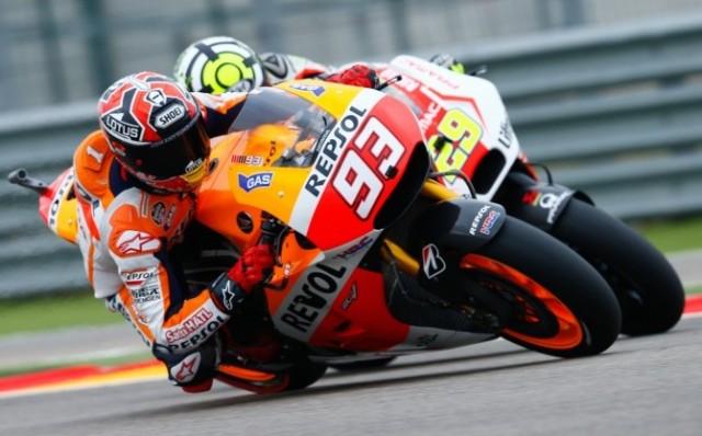 Marc Marquez Andrea Iannone Aragon
