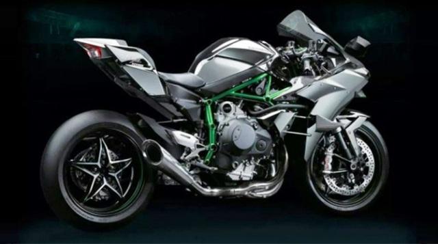 Kawasaki NInja H2 rear_1