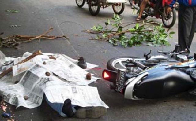 kecelakaan revo