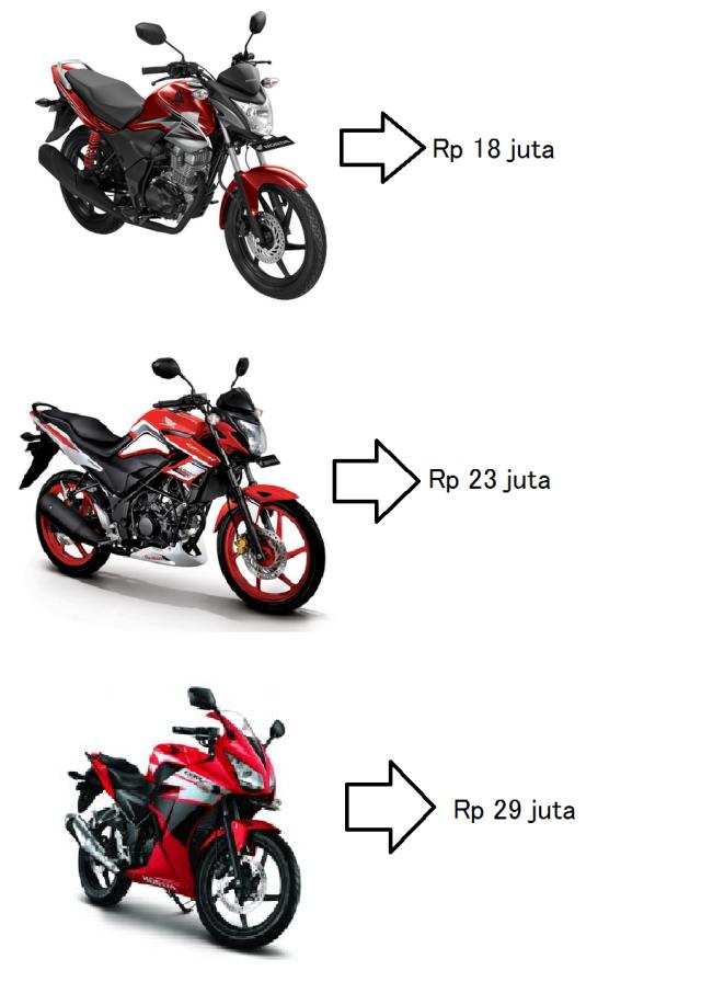 varian Honda sport 150 cc