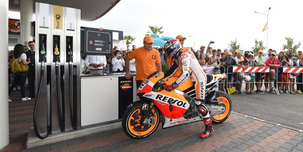 Bahan Bakar MotoGP 2016 Kapasitas Tangki 22 liter