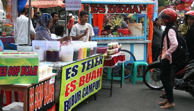 penjual es buah