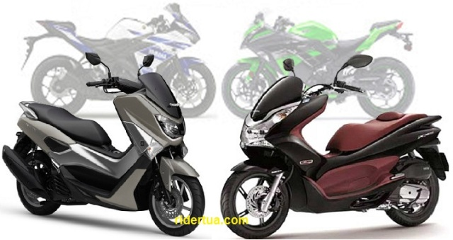 Honda-PCX150-NMAX 150