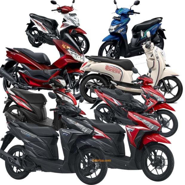 keluarga skutik honda Family scooter