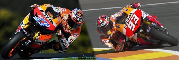 Stoner vs Marquez