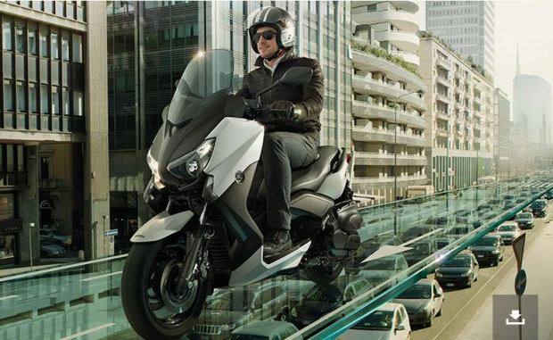 Yamaha X MAX 400 scooter