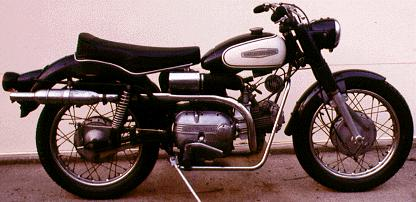 1966 Aermacchi-Harley-Davidson Sprint H Model 250