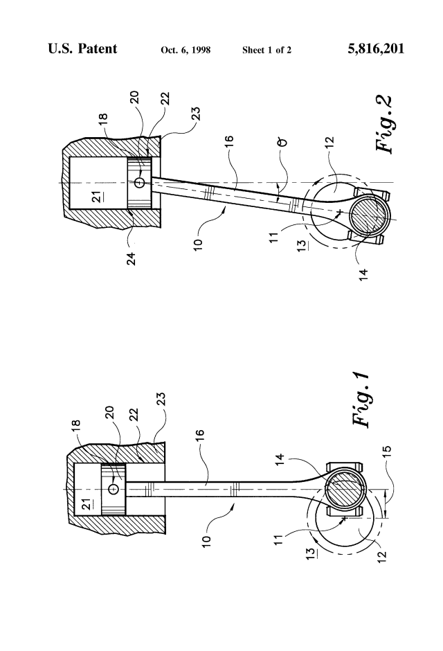 crankshaft offset cylinder