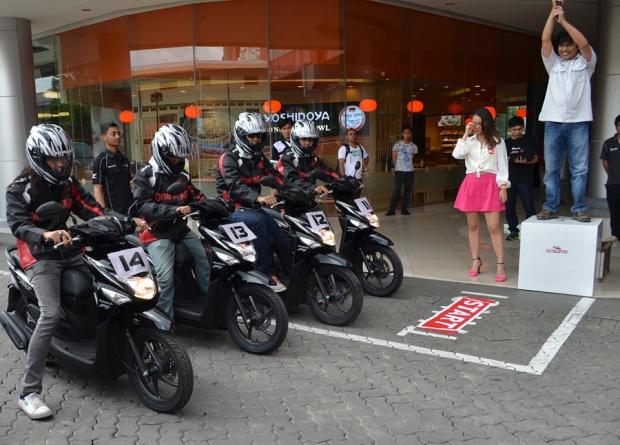 Lomba-adu-irit-Honda-BeAT