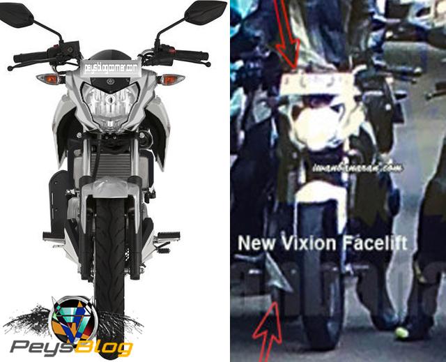 New Vixion lightning 2015