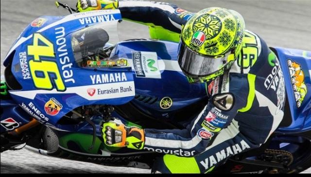 Sepang Valentino Rossi Tes
