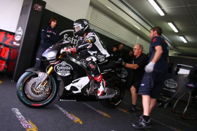 Valencia Test    Scott redding