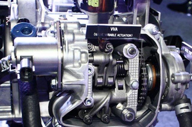 VVA (Variable Valve Actuating) VMAX Yamaha