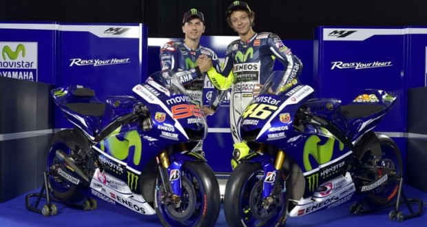 Yamaha-Jorge-Lorenzo- Valentino-Rossi- 2015-Yamaha-YZR-M1-MotoGP