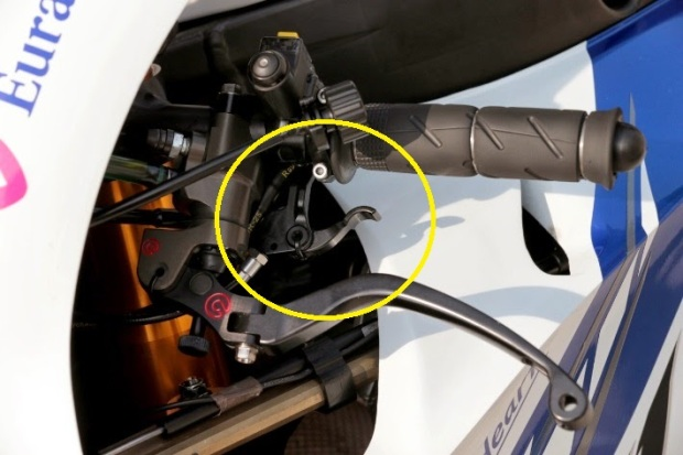 Extra lever for SSG Yamaha YZR-M1