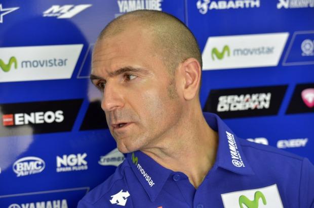 manajer tim Yamaha Massimo Meregalli