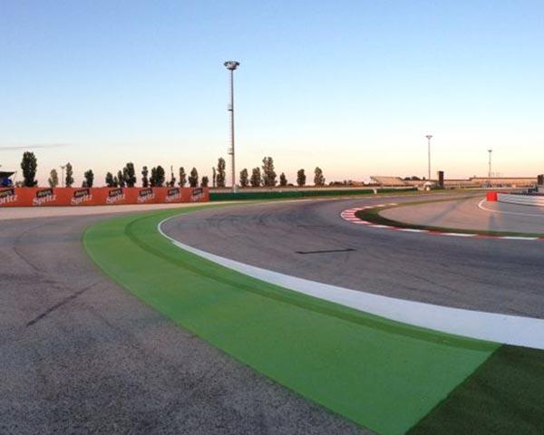 Renovasi MotoGP Misano track aspal